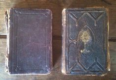 Antique French prayer religious books set of 2 circa 1913 Purchase in store here http://www.europeanvintageemporium.com/product/antique-french-prayer-religious-books-set-of-2-circa-1913/