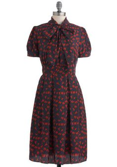 On the Other Line Dress, #ModCloth