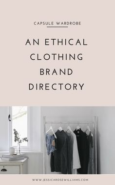 An ethical clothing brand directory slow fashion minimalism simple living ethical style ethical brands ethical clothes fair trade fashion sustainable clothes