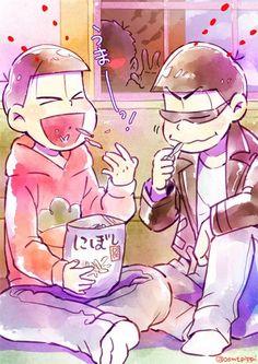 おそ松さん Osomatsu-san おそ松&カラ松