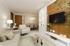 Sala empreendimento Grand Parc Residencial #ES / Grand Parc Residencial Living Room