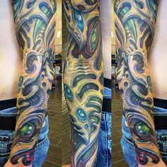 35 Best Biomechanical Tattoo designs - Contemporary Life Style