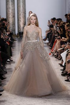 Elie Saab Haute Couture Spring/Summer 2017 HAUTE COUTURE Fashion Show