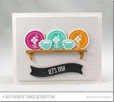 Kitschy Kitchen Card Kit - Barbara Anders  #mftstamps