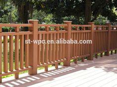 Wpc esgrima para jardim à prova d ' água de madeira baixo jardim esgrima-imagem-Cercas, treliças e portões-ID do produto:60281570194-portuguese.alibaba.com