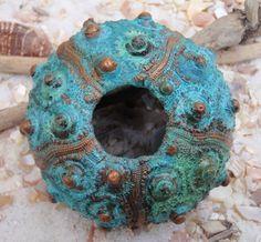 Sputnik Sea Urchin, Copper Covered