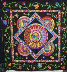 Karen K Stone Paper Patterns | ... de Mayo quilt pattern by Karen Stone and applique patterns by Piece