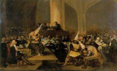 Goya en el Museo de la Academia: la inquisicion