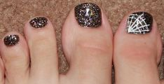 Decoración de uñas para pies Halloween Toe Nails, Toe Nail Art, Holiday Nails, Nail Art Designs, Crystals, Beauty, Beautiful Beautiful, Sydney, Winter