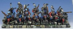 James Wappel Miniature Painting: And then there were none! Handgunner unit complete!!