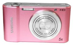 Samsung St68 Compact Digital Camera - 16.1mp - 5x Optical Zoom- Live Panorama - Pink for SALE