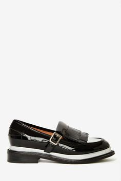 Jeffrey Campbell Yarmouth Patent Leather Oxford | Shop What's New at Nasty Gal