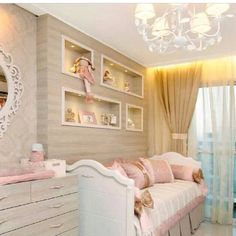 Get inspired to create a trendy bedroom for little girls with these decorations and furnishings. Check more at circu.net