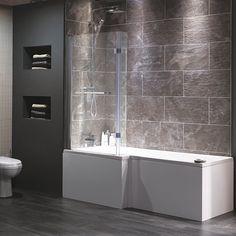 Venice square shower-bath from Heritage Bathrooms | Shower-baths | housetohome.co.uk