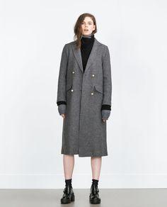 Image 1 de MANTEAU LONG de Zara