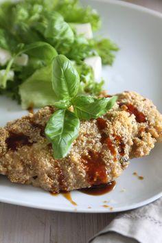 Vatsan vapaapäivä: Parmesanilla ja kvinoalla paneroitu broileri (glut...