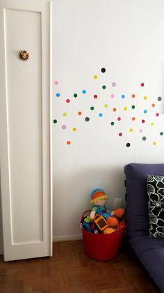 Veja a dica de como decorar o quarto do seu bebê com Papel Contact. Um jeito fácil, barato e divertido de você mesmo personalizar o quarto do seu filho!