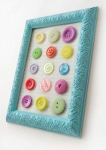 Use up those old buttons you've been saving with this Colorful Button Collage project; plus enter to win an assortment of crafty prizes including a Mod Podge Rocks project book!