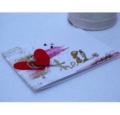 Réalisez une carte avec un coeur en relief pour la St Valentin : Doriane