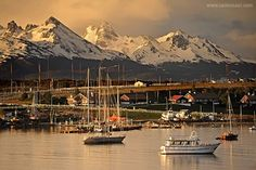 Ushuaia, Tierra del Fuego, Patagonia. Argentina Ushuaia, Patagonia, Mountains, Photo And Video, World, Instagram, Amazing, Nature, Travel