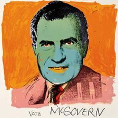 Warhol's official political position was neutrality, however in 1972 he was solicited for a donation by the George McGovern Democratic presidential campaign running against Nixon. Vote McGovern has been described as Warhol's most overtly political works. His depiction ... About the Artist About Andy Warhol  Quite possibly the most influential artist since Marcel Duchamp, Andy Warhol revolutionized modern art, radically altering the relationship of art to notions of authorship and ...