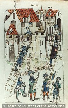 Firework book, Ms I.34 Germany 1450