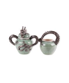 This Green Dragon Sugar Bowl is perfect! #zulilyfinds