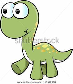 Cute Cartoon Dinosaurs | ... cute dinosaur cartoon dinosaur icon cute green dragon cartoon