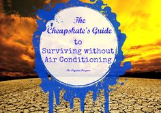Running an air conditioner at full blast to combat the heat can be very expensive, and for those of us on a budget, the resulting bill can be crippling.