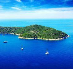 Sail away to PARADISE The Island of Lokrum.... #Repost @galayachtingcroatia Sailing around Lokrum island near Dubrovnik...   Yacht Charter Croatia  #yacht #charter #croatia #luxury #luxuryliving #yachtlife #adriatic #mediterranean #travel #vacation #luxurytravel #megayacht #superyacht #sailing #yachting #galayachting #destination #fun #summer #friends #sea #sail #bay #beach #nature #luxwt #follow #beautifuldestinations #lokrum by beautiful.croatia