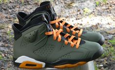 "Air Jordan 6 ""No Losses"" custom"