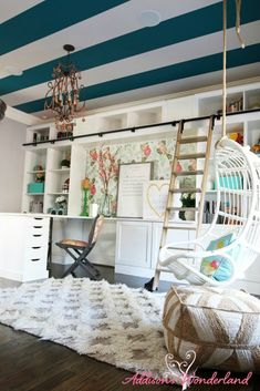 5 Dreamy Home Office Makeovers that Wow and Inspire! – Chic Home Office Design Home Office Space, Home Office Decor, Diy Home Decor, Office Ideas, Office Spaces, Office Interior Design, Office Interiors, Office Makeover, Cubicle Makeover