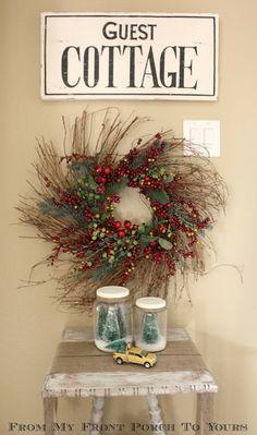 Top 20 Creative Christmas Ideas II - Fox Hollow Cottage