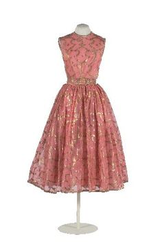 Traina-Norell 1950, different material, cute dressy dress and if made in cotton, cute for church