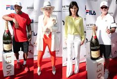 Ja Rule Natasha Bedingfield Perrey Reeves And More At The 12th Annual Desert Smash Charity Tennis Tournament With Moet & Chandon #news #fashion
