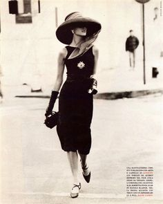 -Givenchy in Vogue Italia, 1991 (photograph by Stephen Meisel)
