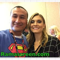Rockin' it with the beautiful Spencer Grammer at #sdcc #sdcc2016 #comiccon #comiccon2016 #spencergrammer #rickandmorty
