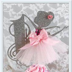 Ballerina Cupcake Toppers bailarina fiesta por MemoryKeepsakeParty