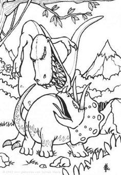 Dinosaurier 60 Ausmalbilder