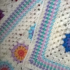 I'm going to make 2 baby blankets simultaneously. I'm using the same yarn as my Tooty Harmony Blanket as I figured I'd have plenty of little bits left over. I'm following th...