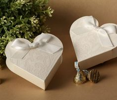 Luxury Wedding Sweets Candy Favour Boxes Table Decorations White Heart Design in Home, Furniture & DIY, Wedding Supplies, Wedding Favours Wedding Candy Boxes, Wedding Sweets, Card Box Wedding, Wedding Favours, Wedding Paper, Candy Gift Box, Candy Favors, Candy Gifts, Clear Gift Boxes