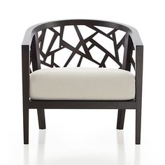 Ankara Chair Ivory : C&B $699