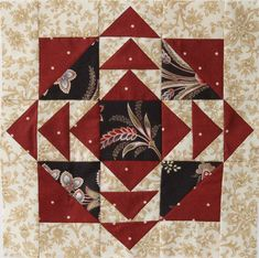 Mystery Quilt: Block of the Month. 6