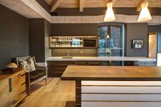 Entertainer's Kitchen, Constantia, Cape Town Cape Town, Kitchen Ideas, Kitchens, Wood, Furniture, Home Decor, Decoration Home, Woodwind Instrument, Room Decor