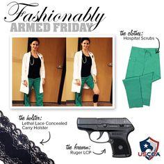 #FashionablyArmedFriday for work!