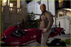 OMG, I'm going to die. So very, very nice - Jason Statham on a Ducati RR.