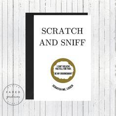 Scratch & Sniff Groomsman Proposal Card Scratch Off, Groomsmen Cards Funny, Groomsmen Cards Set, Be My Groomsmen Card, Best Man proposal by FadedGardenias on Etsy