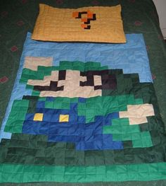 Gamer Baby Blankets want to make something like this.