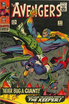Cover for The Avengers (Marvel, 1963 series) #31