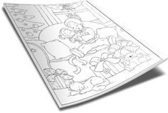 Christmas Coloring Page - Presents http://www.childrens-ministry-deals.com/products/christmas-coloring-page-presents